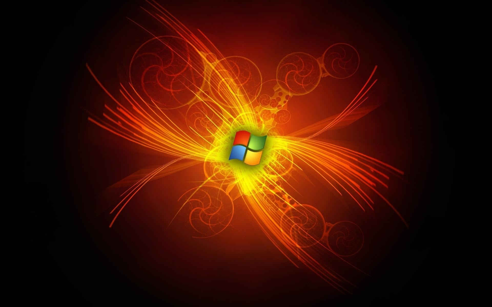 windows abstract flame light design illustration bright wallpaper effect luminescence energy art fractal magic desktop explosion texture fantasy motion element microsoft windows 7