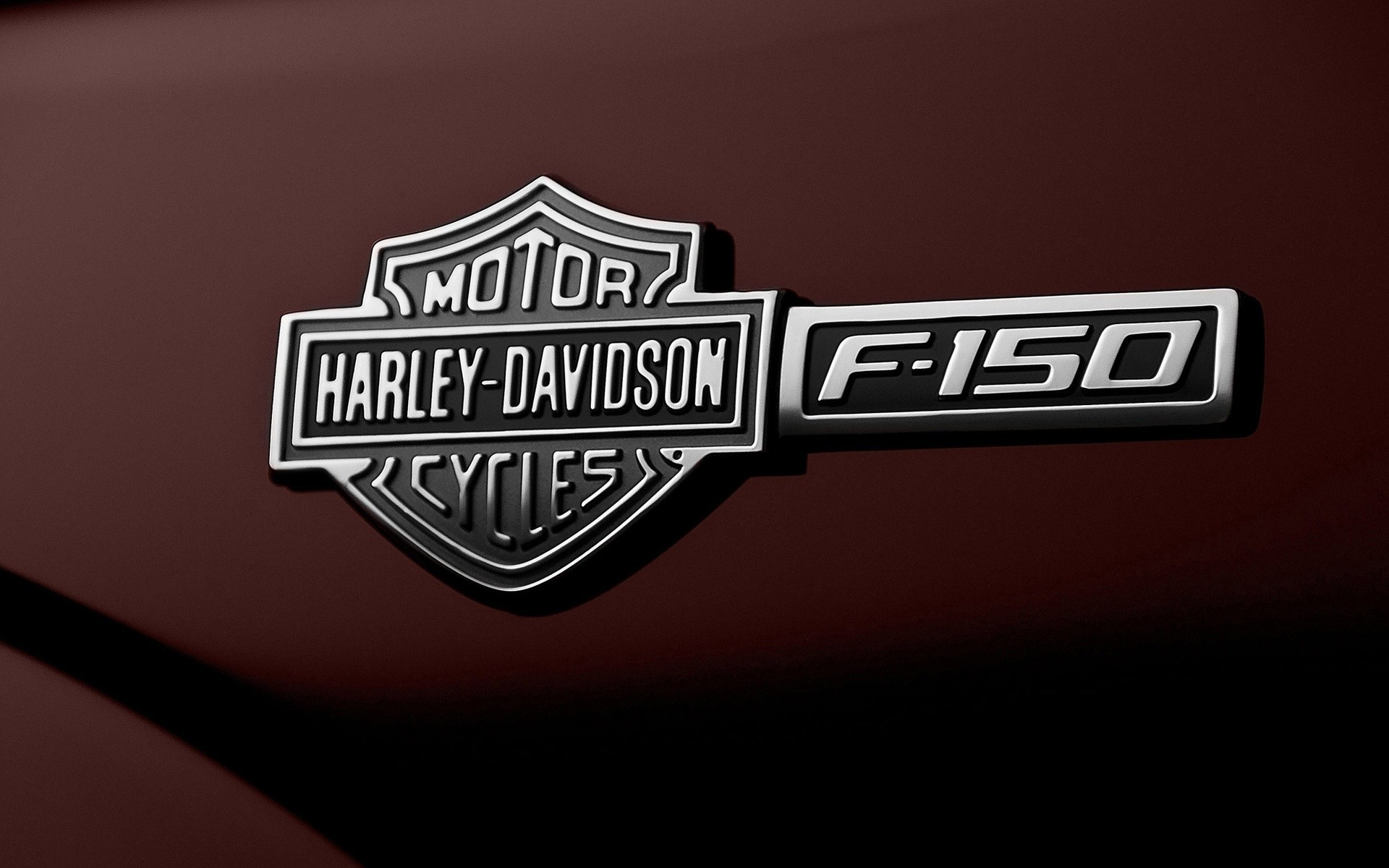 Ford F 150 Harley Davidson Emblem Android Wallpapers