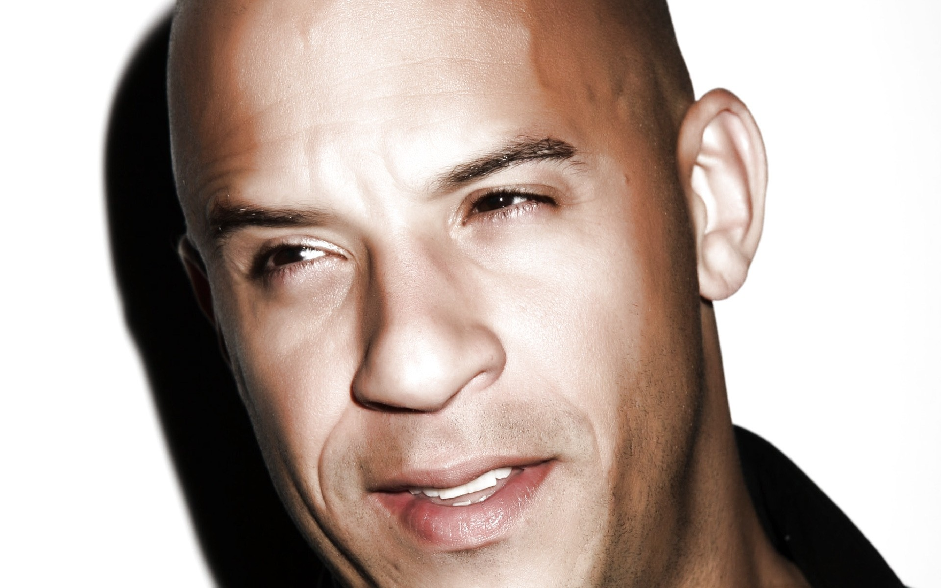 vin diesel close up. android wallpapers for free.