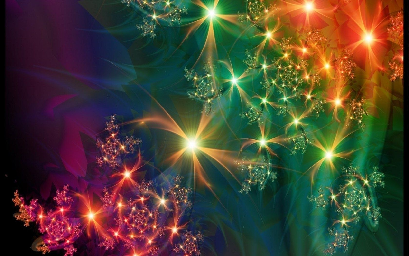 Красивые светящиеся открытки