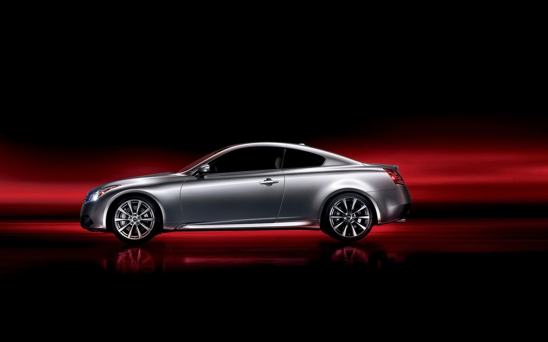 Grey Infiniti G37 Coupe Android Wallpapers