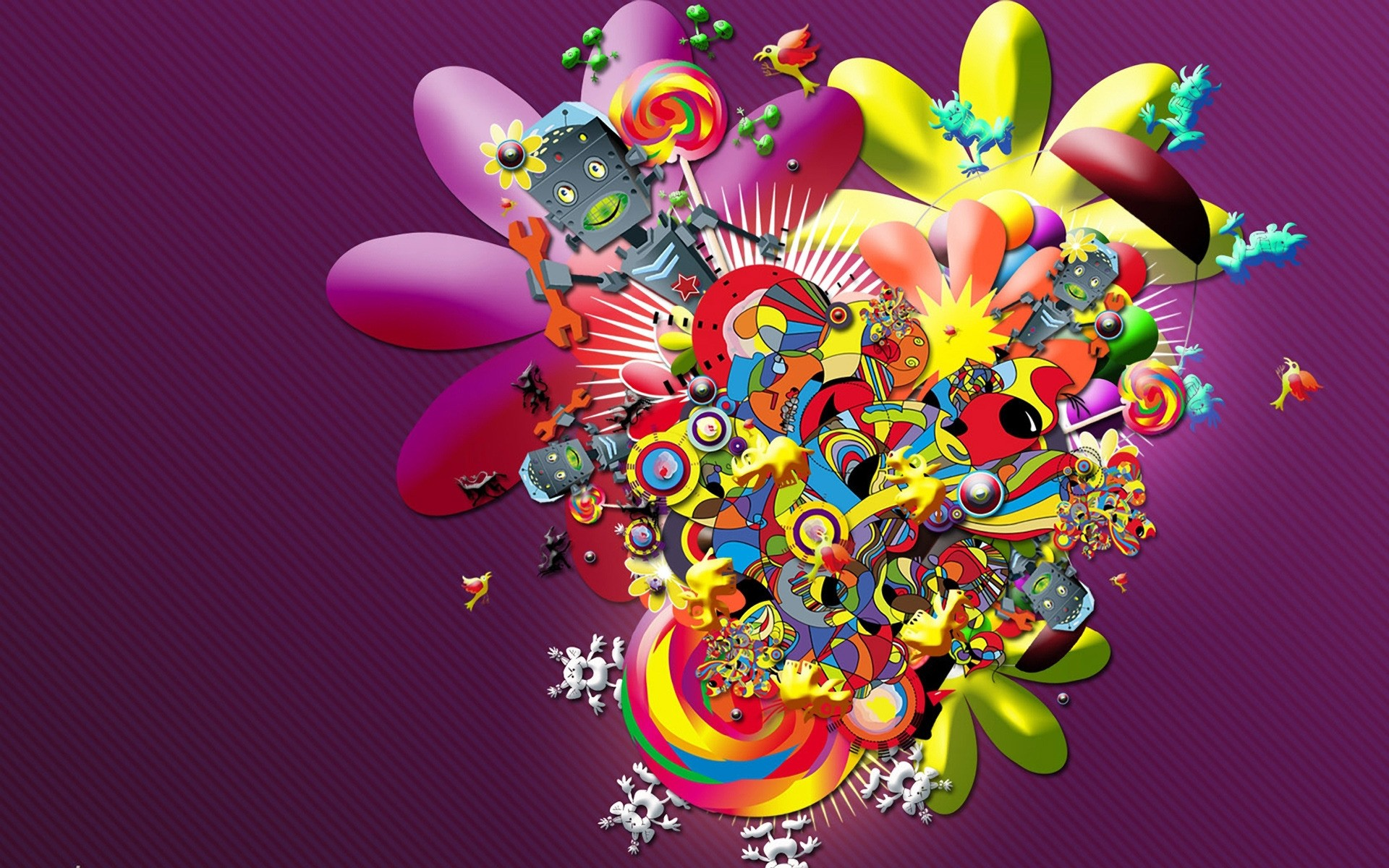 Cartoons wallpapers for Android. Wallpapers on desktop ...