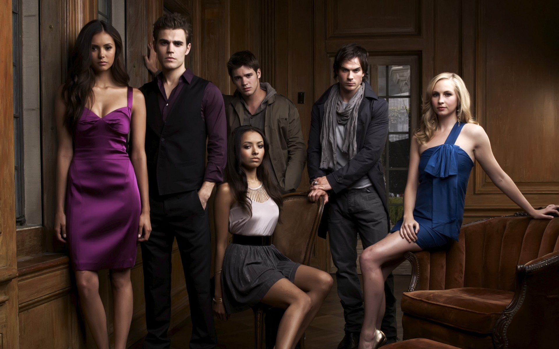 The Vampire Diaries Cast Android Wallpapers