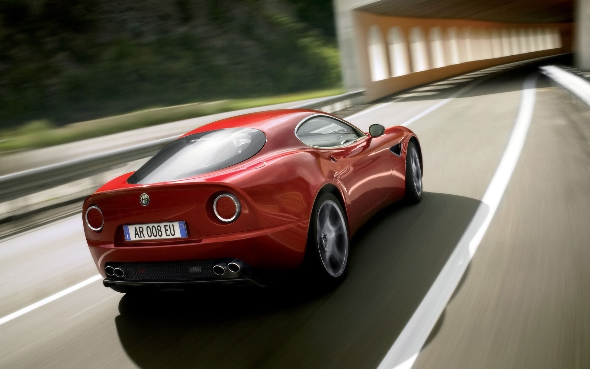 Alfa Romeo Competizione 2009 Rear Android Wallpapers For Free