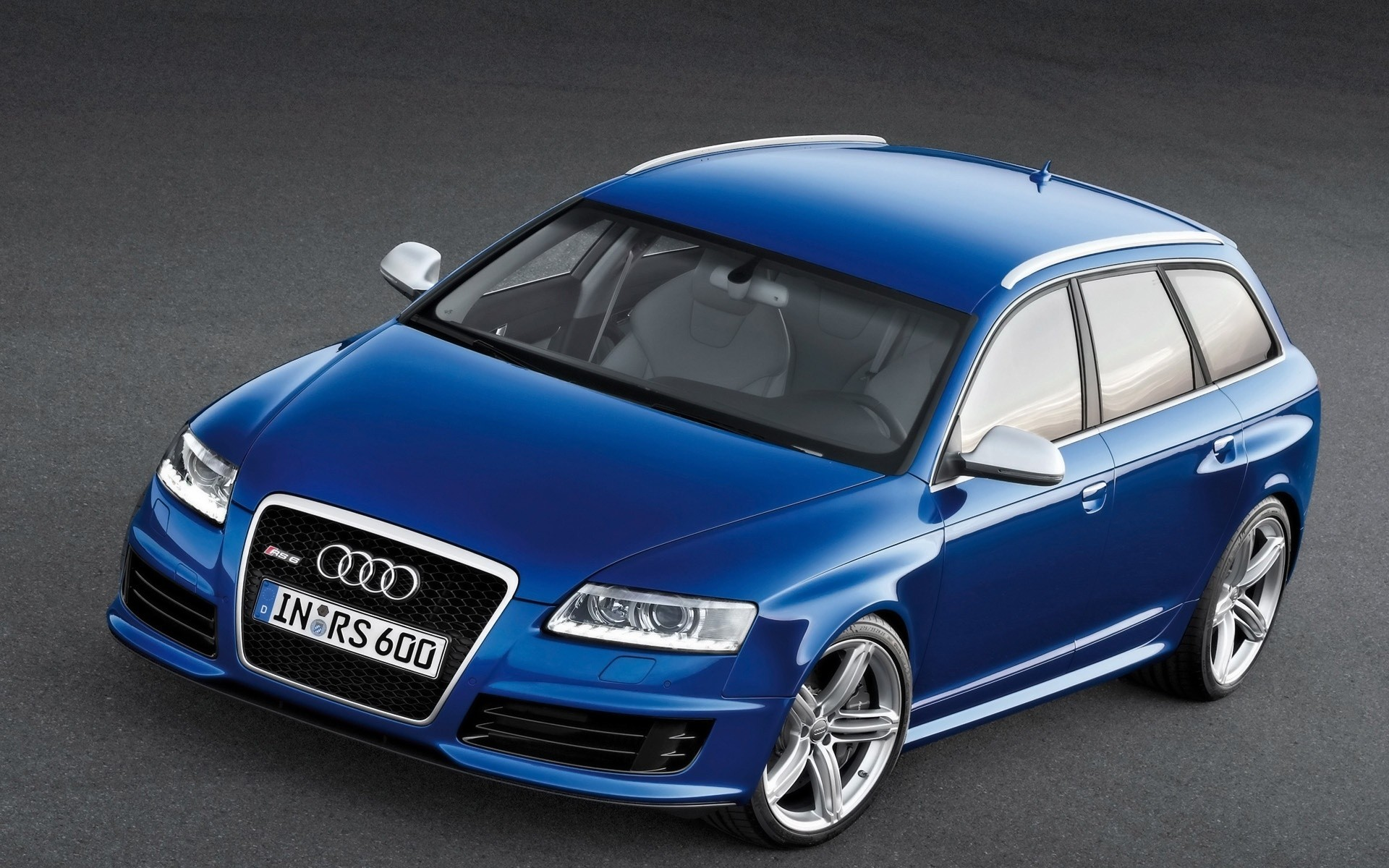 Audi RS6 Avant Front And Side 2008 IPhone Wallpapers For Free