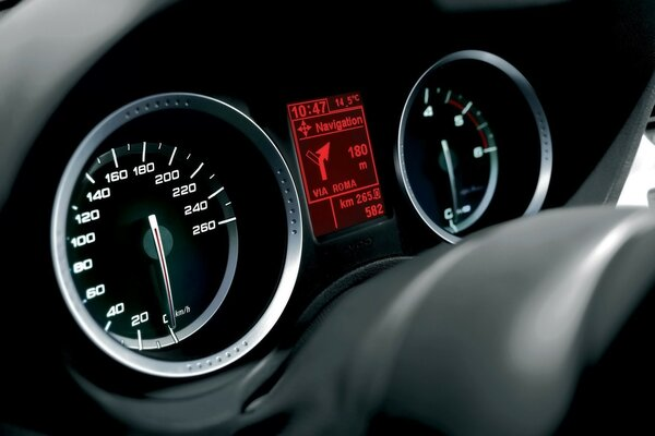 Alfa Romeo 159 2009 Gauges
