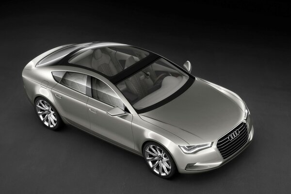 2009 Audi Sportback Concept - Front And Side Top