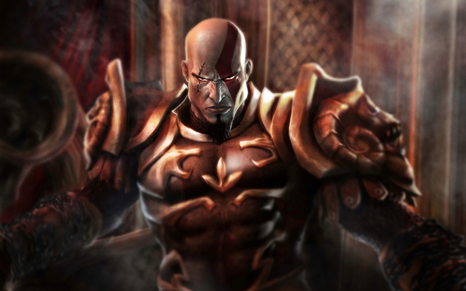 Kratos God Of War 2 Android Wallpapers