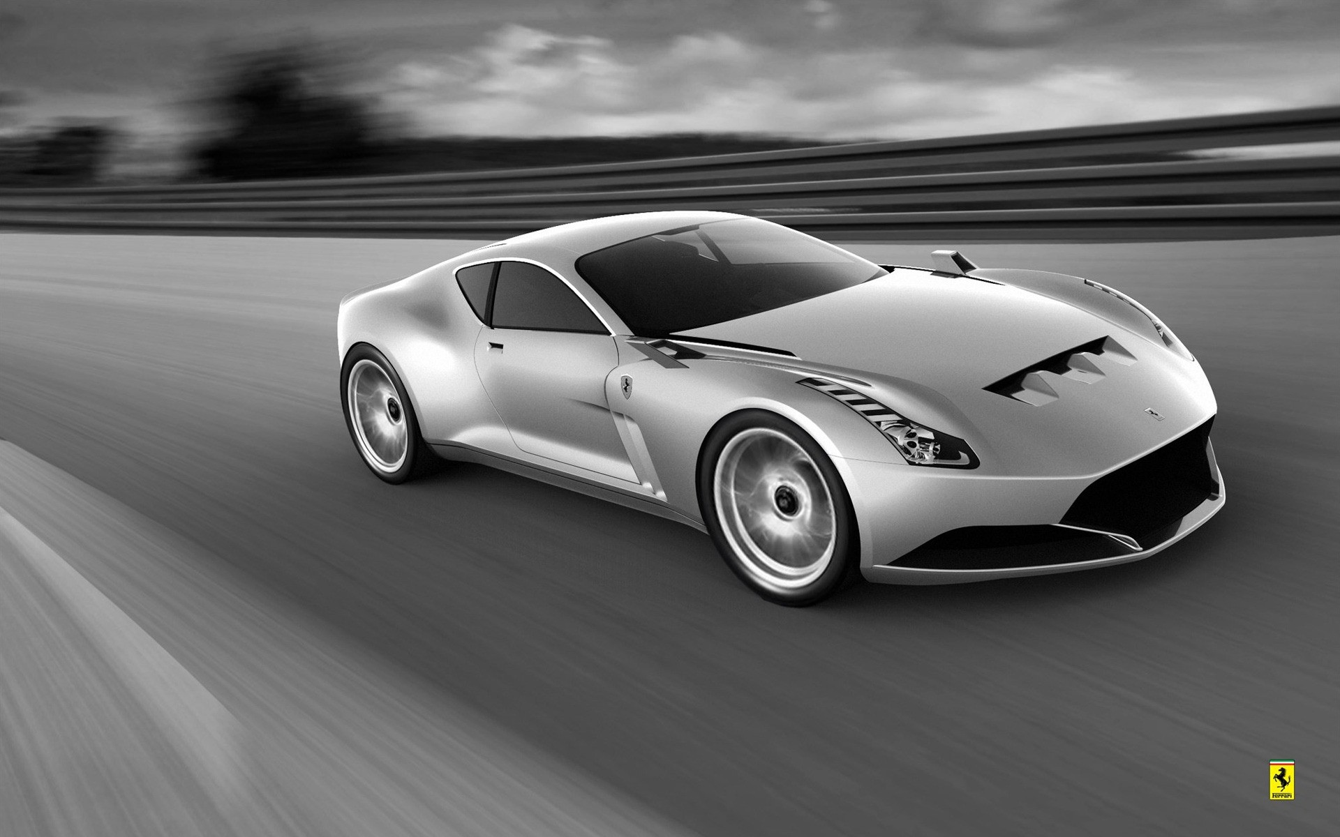 Ferrari 612 Gto >> Ferrari 612 Gto Grey Phone Wallpapers