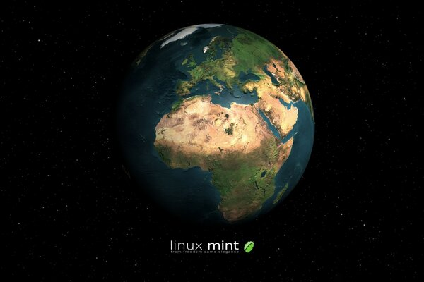 Linux Mint Earth