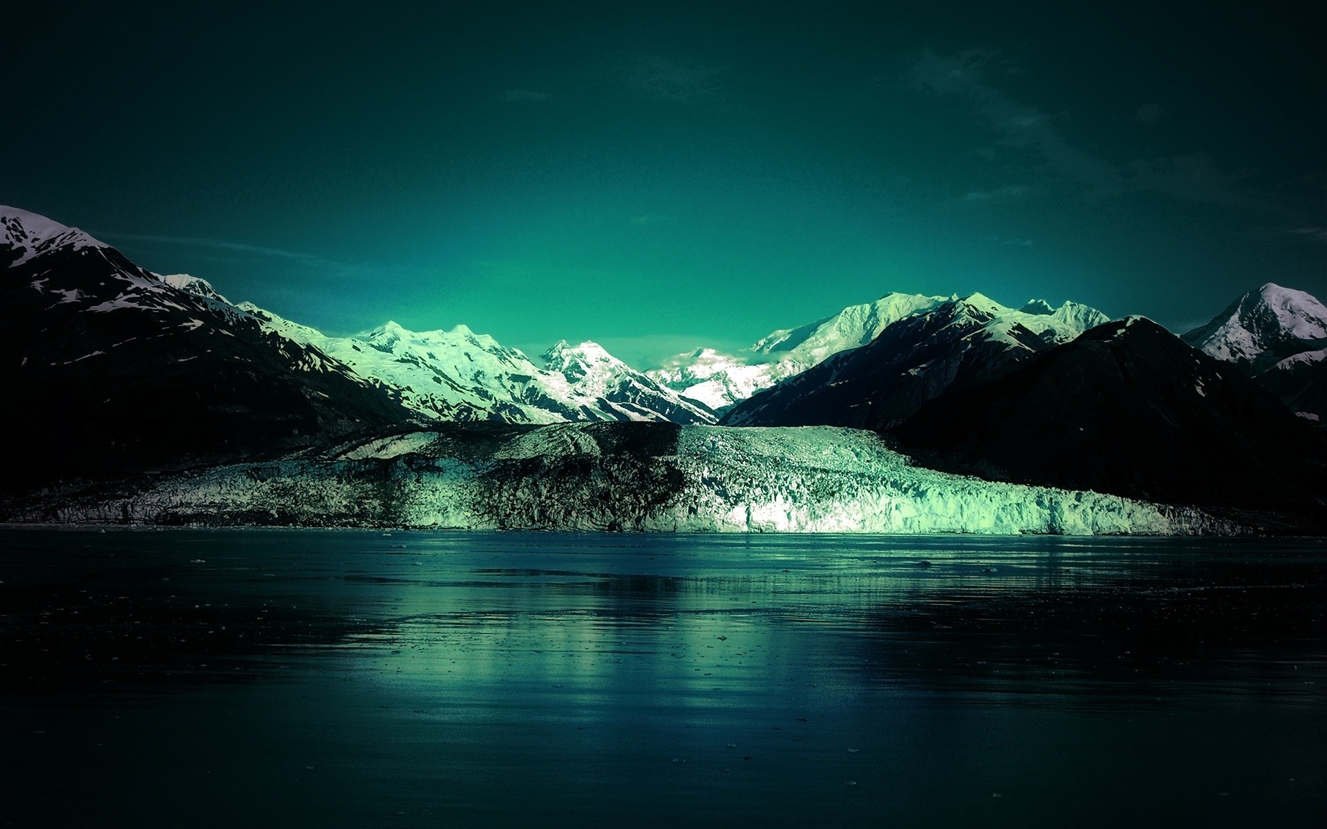 landscapes snow water mountain landscape ice lake travel glacier nature sky reflection sunset