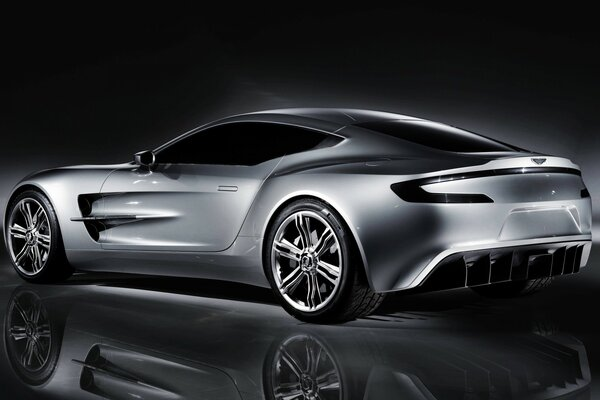 Aston Martin One Rear