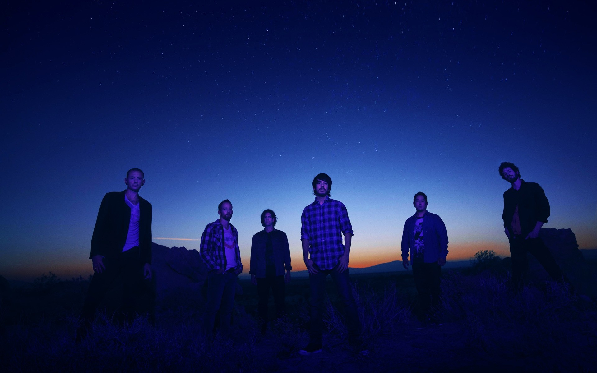 Linkin Park Night Photo Session Android Wallpapers