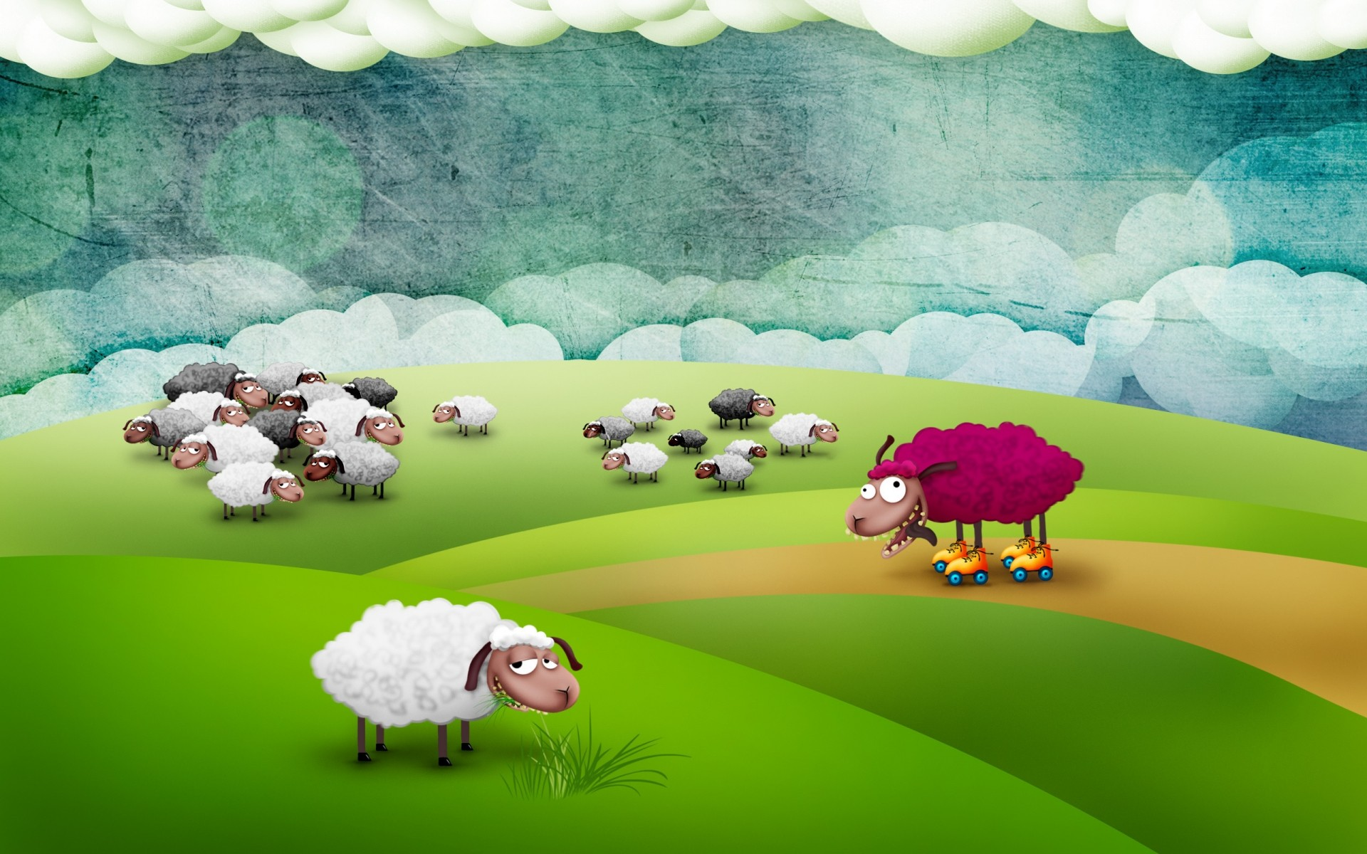 Funny Sheep IPhone Wallpapers For Free