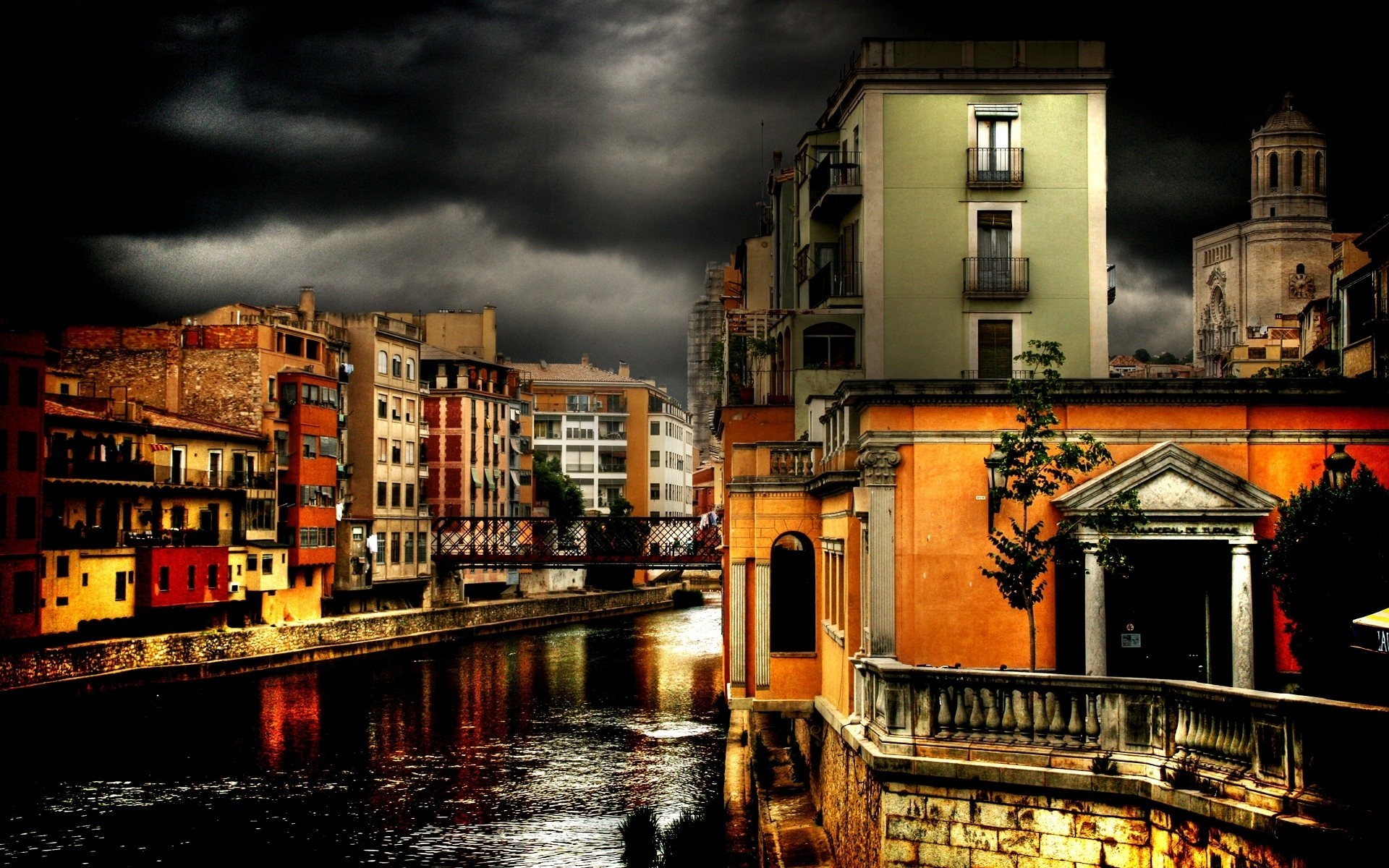 other city city travel architecture street building water canal river urban house bridge town outdoors reflection illuminated dusk evening tourism sunset buildings night