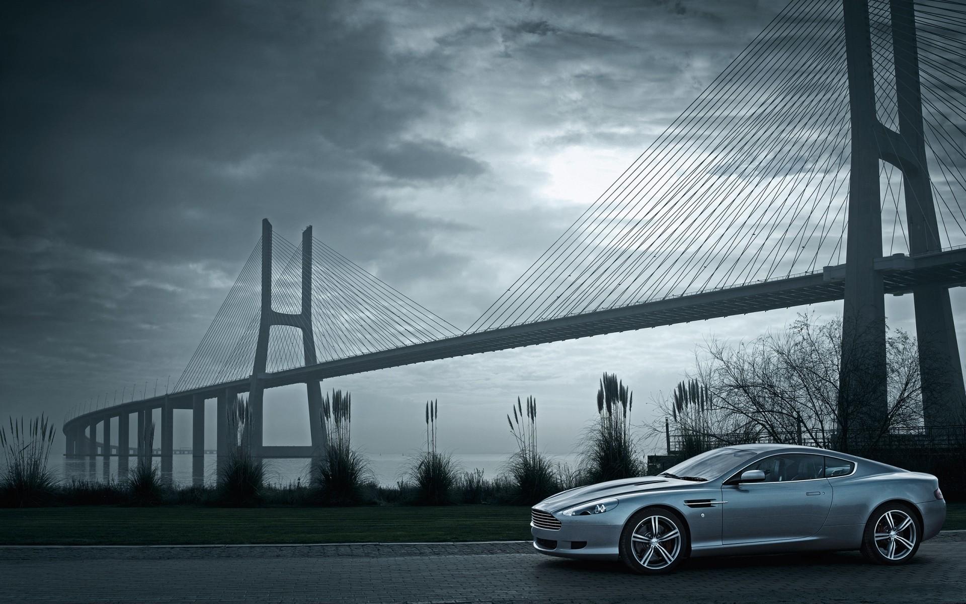 Авто под мостом загрузить