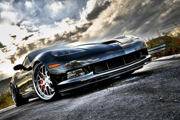 Corvette Super Sport Front Angle