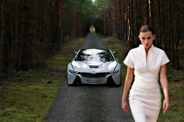 BMW Vision EfficientDynamics Front 2009