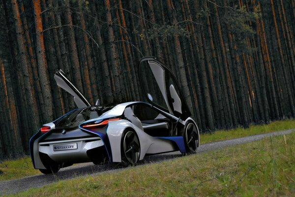 BMW Vision EfficientDynamics Open Doors