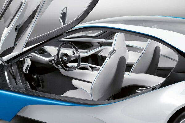 BMW Vision EfficientDynamics Interior