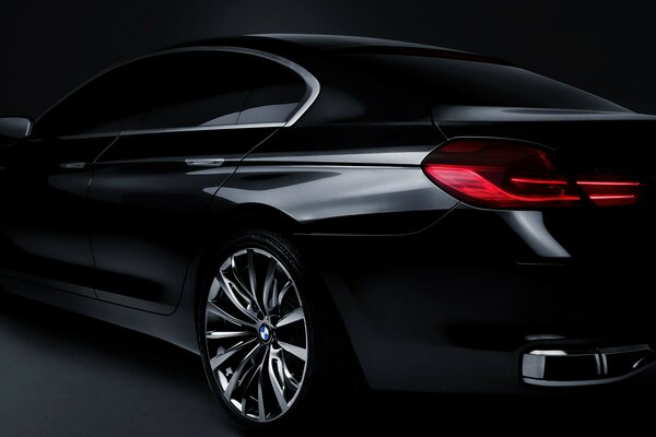 BMW Concept Gran Coupe Rear
