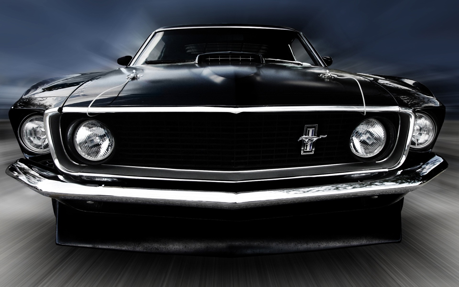 1969 Ford Mustang Phone Wallpapers