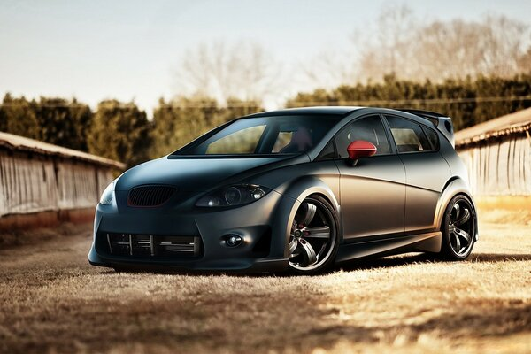 Seat Leon Tunning Front Angle