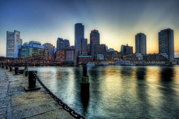 Boston On The Dusk