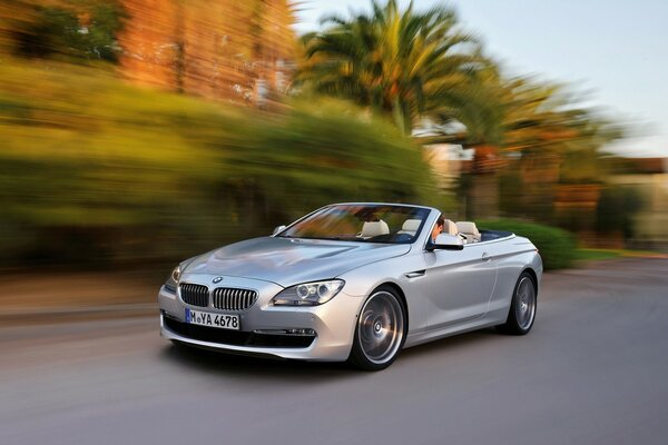 2011 BMW 6 Series Convertible Topless