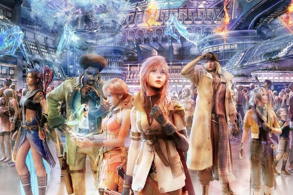 Final Fantasy Video Game