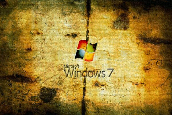 Grungy Windows Seven