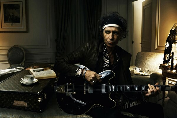 Keith Richards Guitarist Rolling Stones