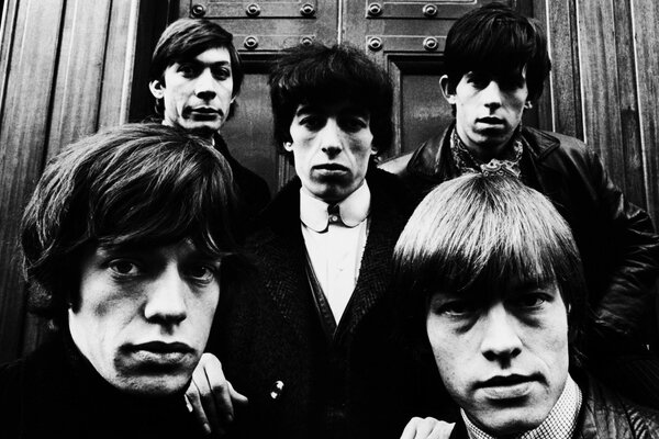 Rolling Stones Black and White