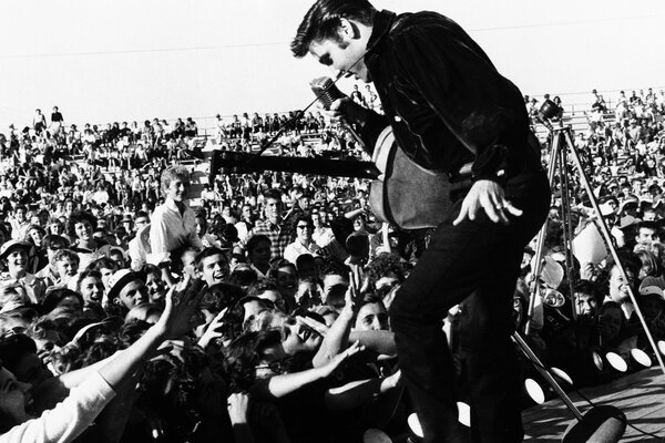 Elvis Presley on The Stage