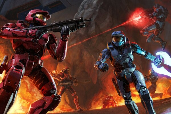 Halo Fiction Game