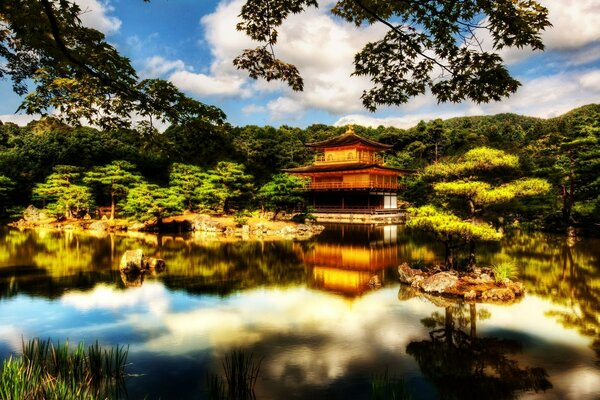 Great Japanese Temple