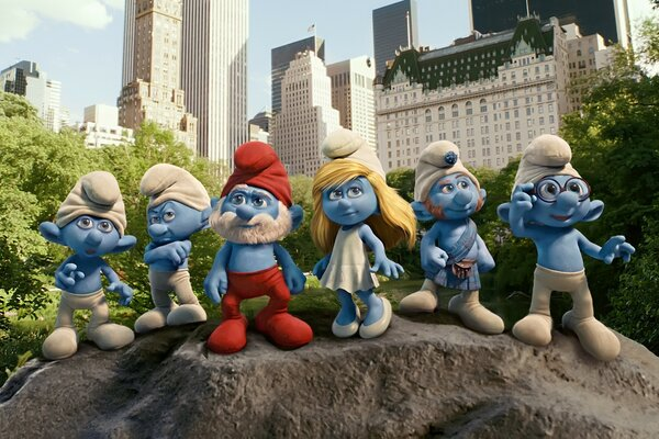 2011 The Smurfs Movie