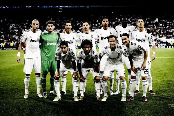 Team of Real Madrid