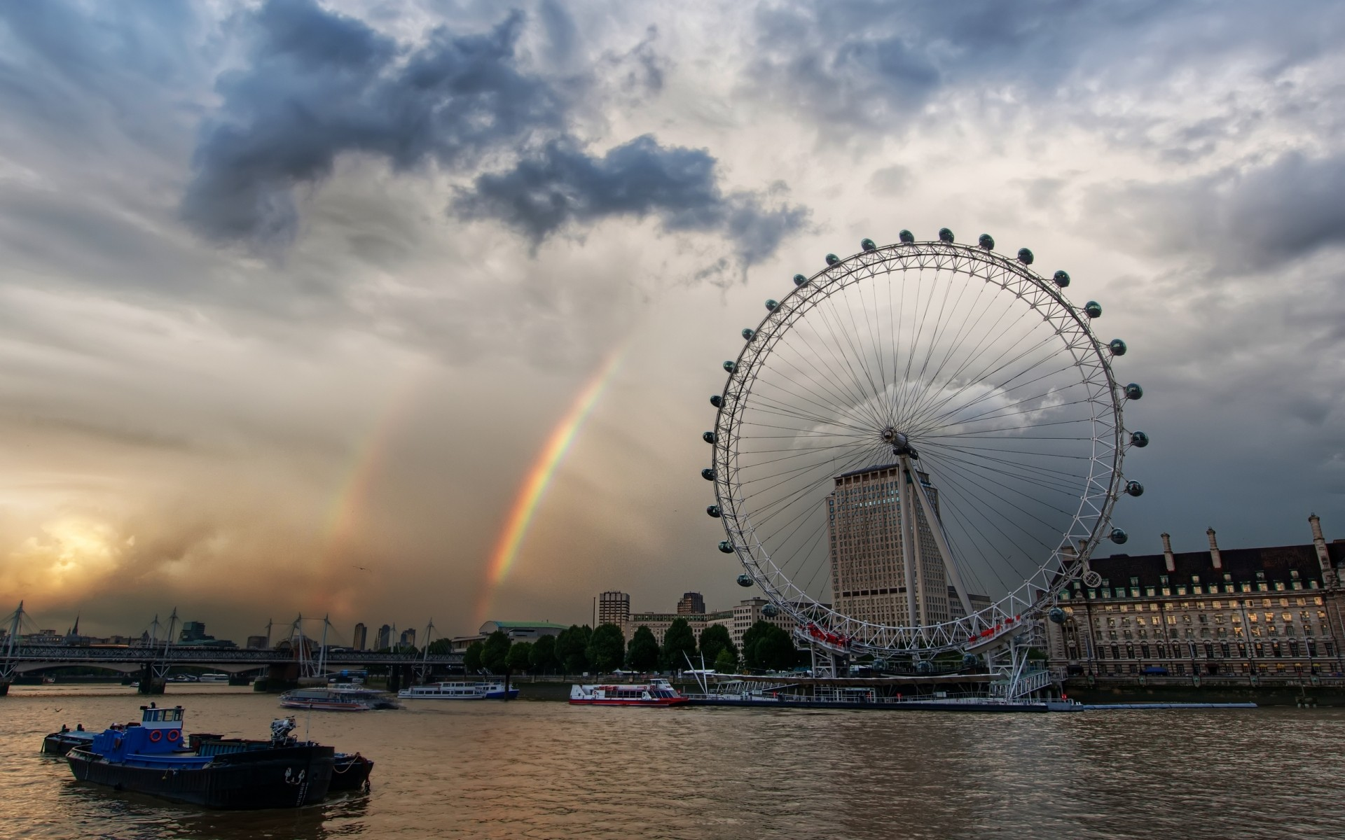 london eye. android wallpapers for free.