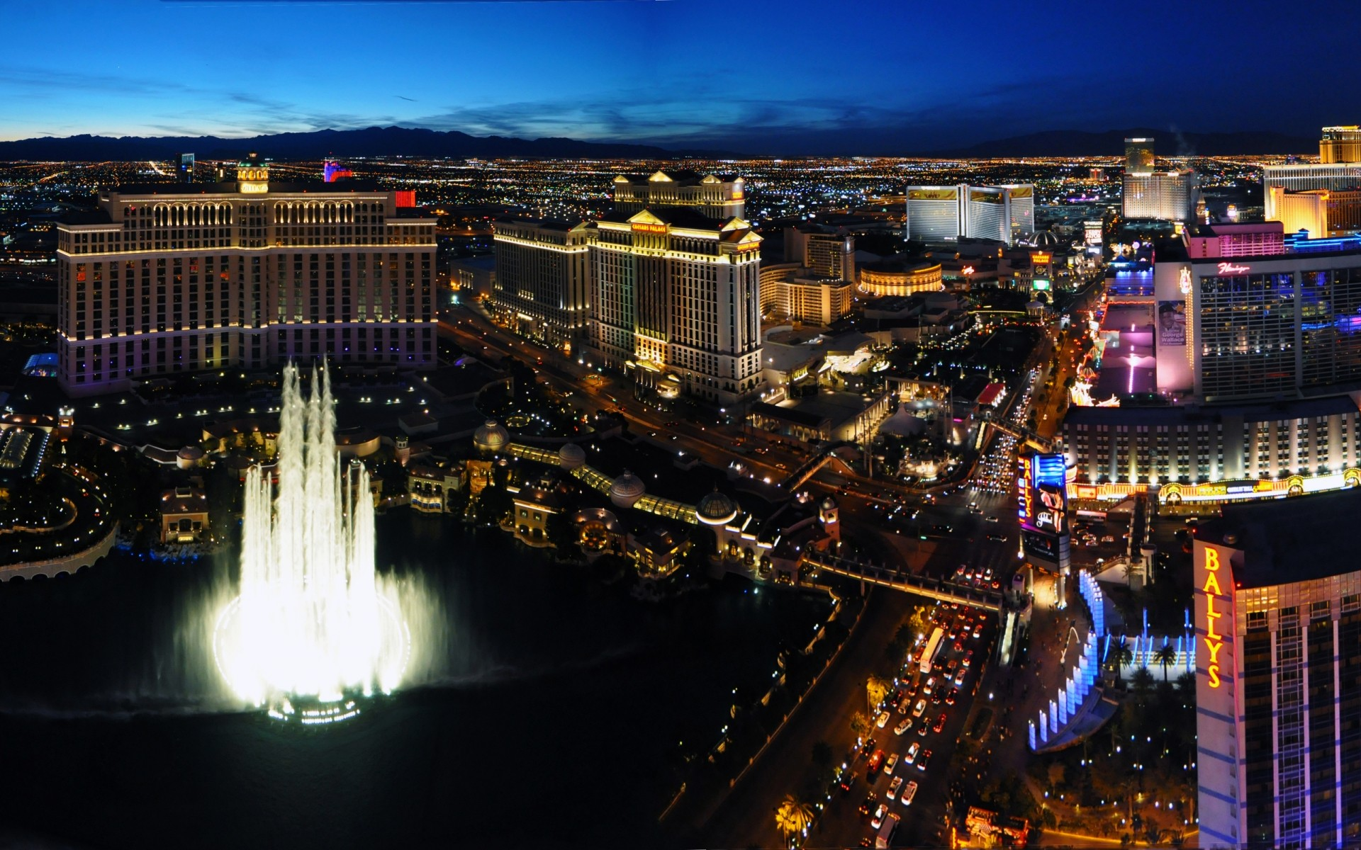 Las Vegas Night Android Wallpapers