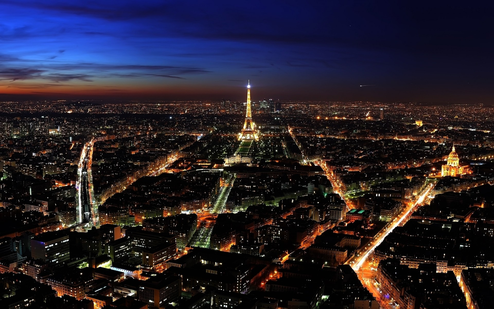 france city cityscape skyline architecture travel sunset urban sky panorama building aerial evening dusk landscape panoramic