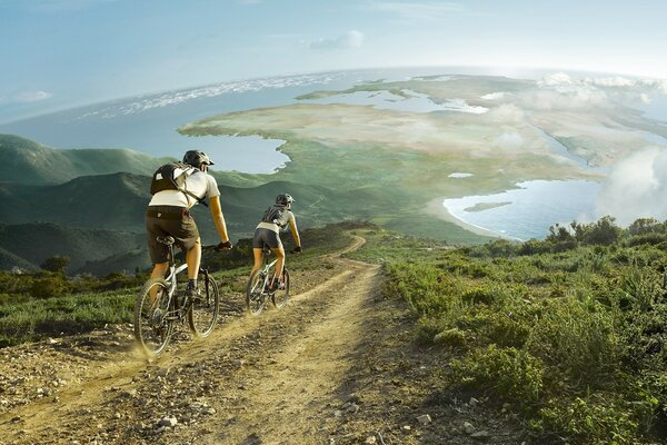 Wonderful Outdoor Bike Sports