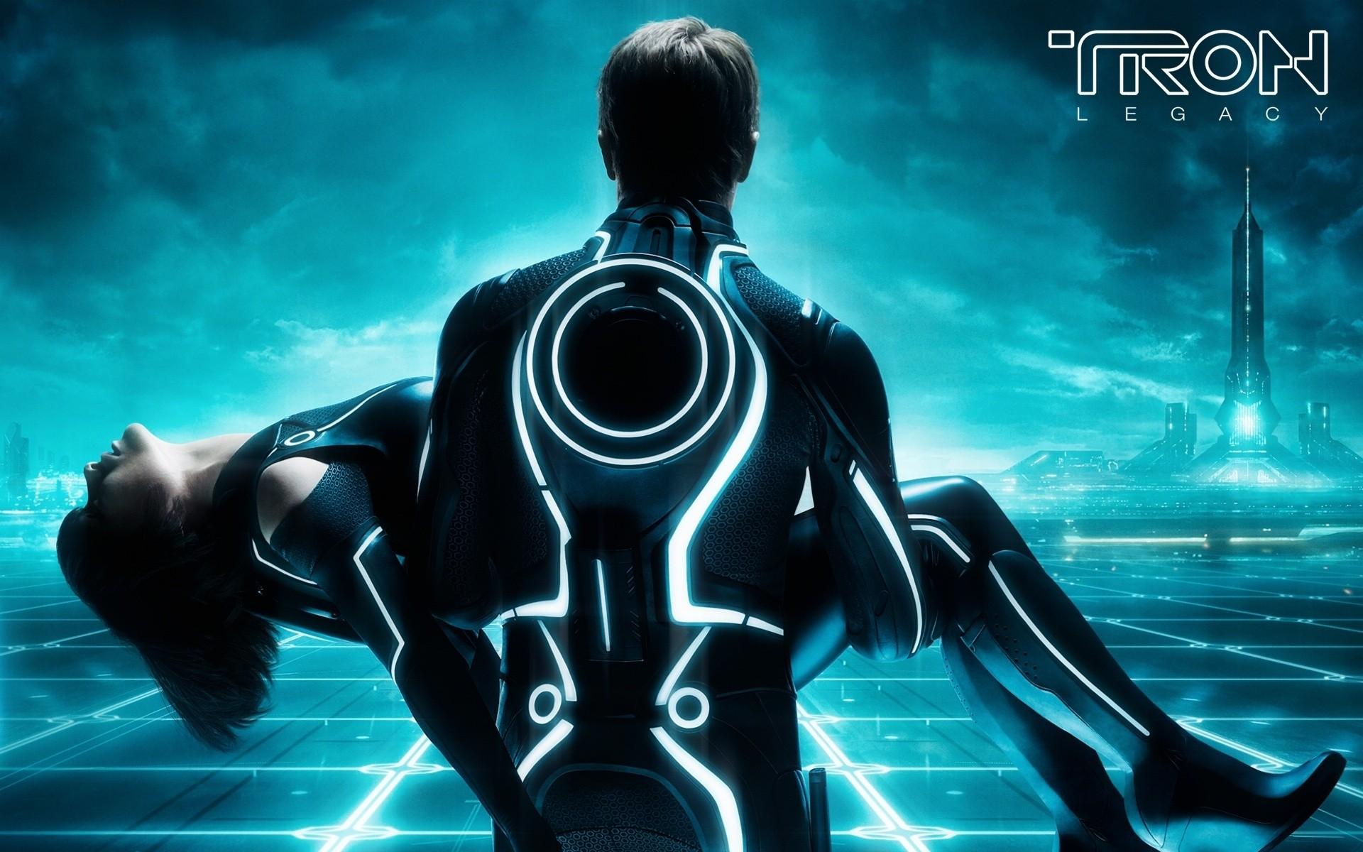 Tron legacy theme apk android