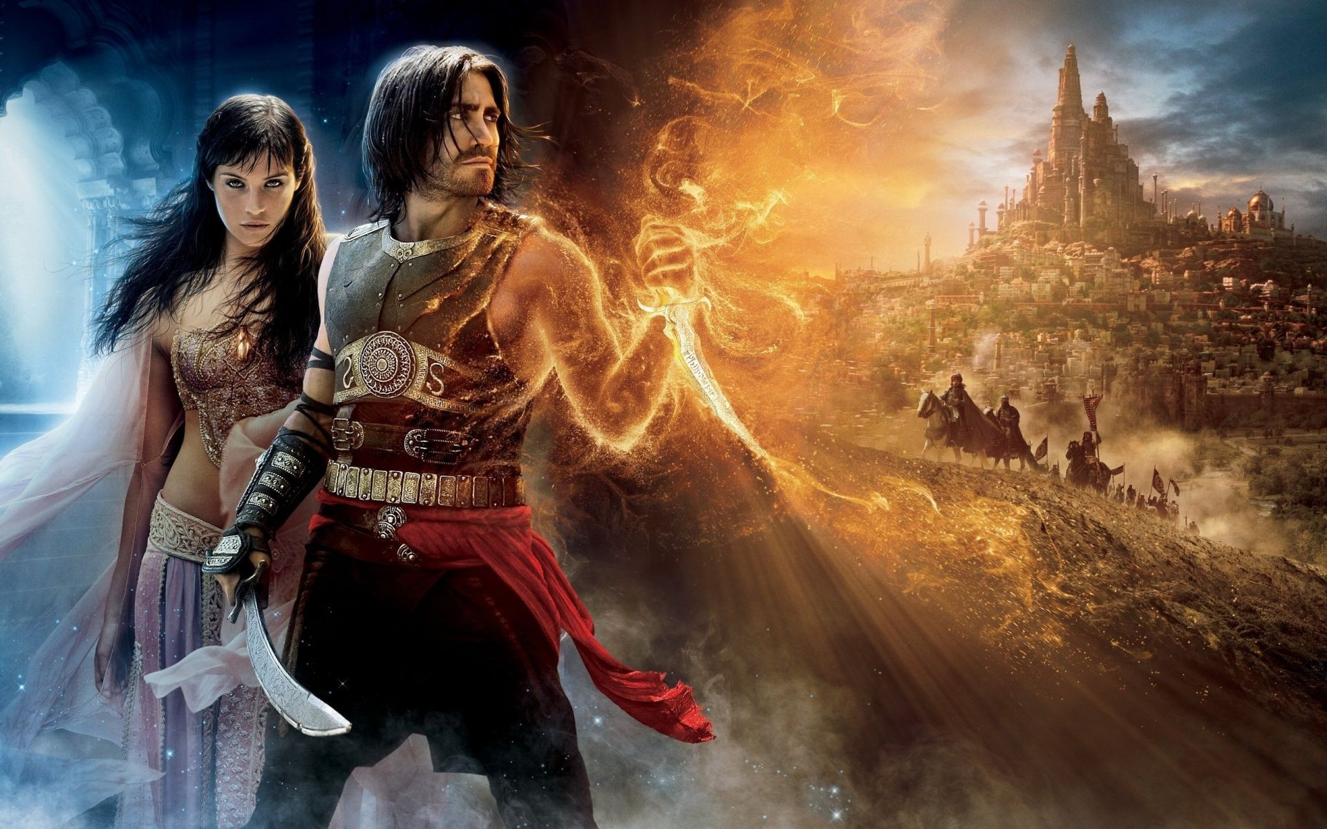 main characters Prince of Persia the Sands of time the magic dagger