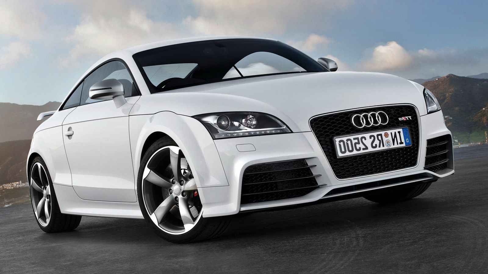 audi tt big plan. iphone wallpapers for free.