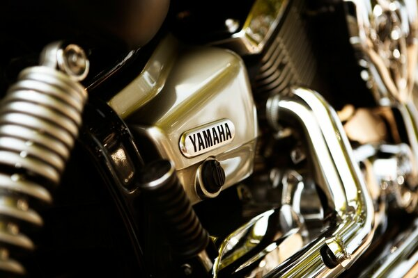 Yamaha bike Close-Up