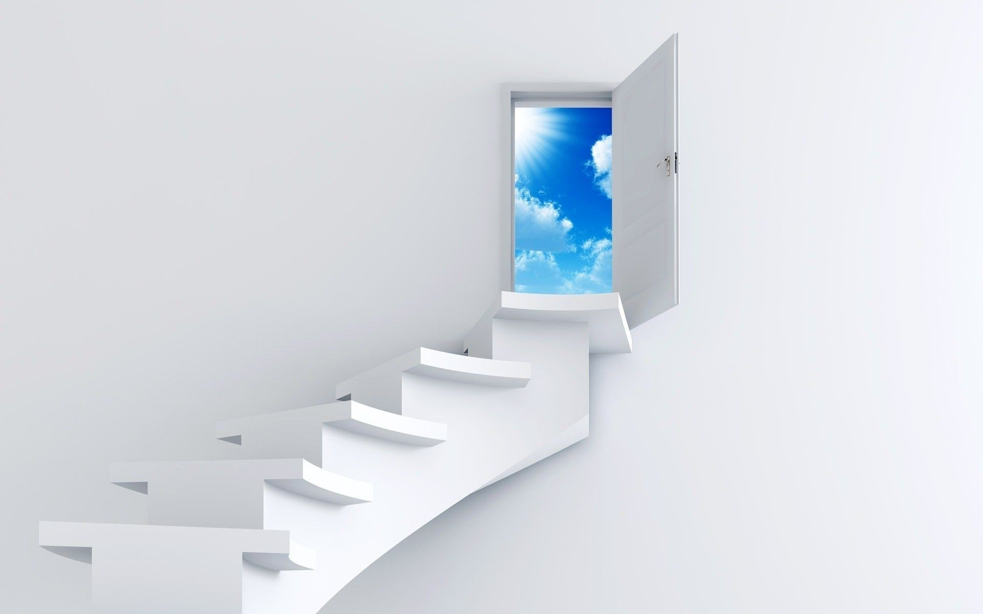 stage door to heaven white wall
