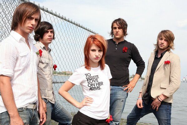 Paramore and Hayley Williams