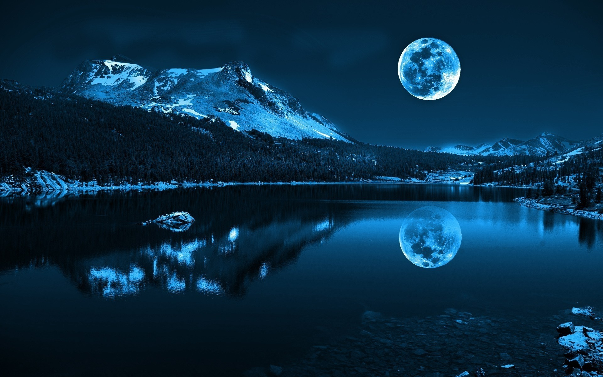 Full Moon Android Wallpapers