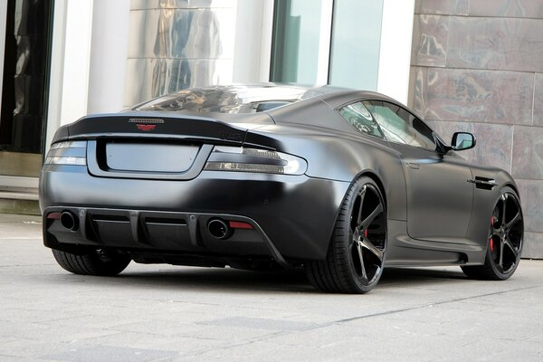 Aston Martin DBS Superior Black Edition Rear